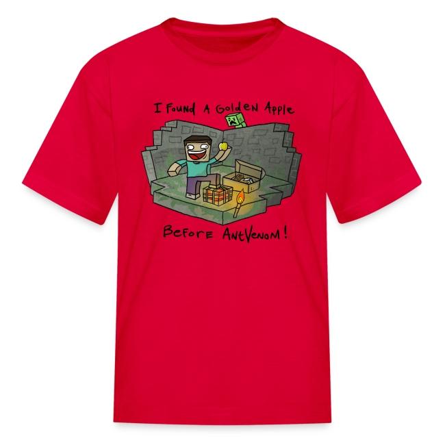 Kid's T-Shirt: Steve's Golden Apple