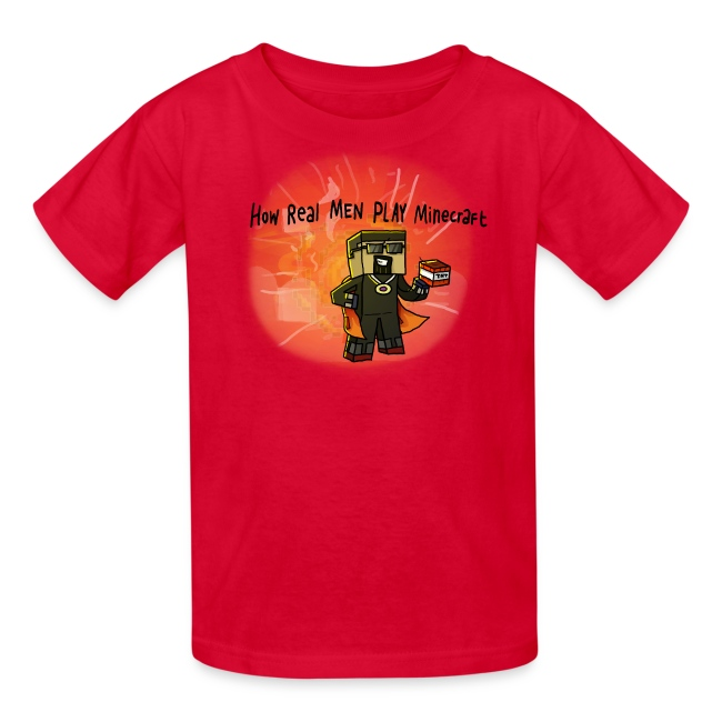 Kid's T-Shirt: How REAL Men Use TNT!