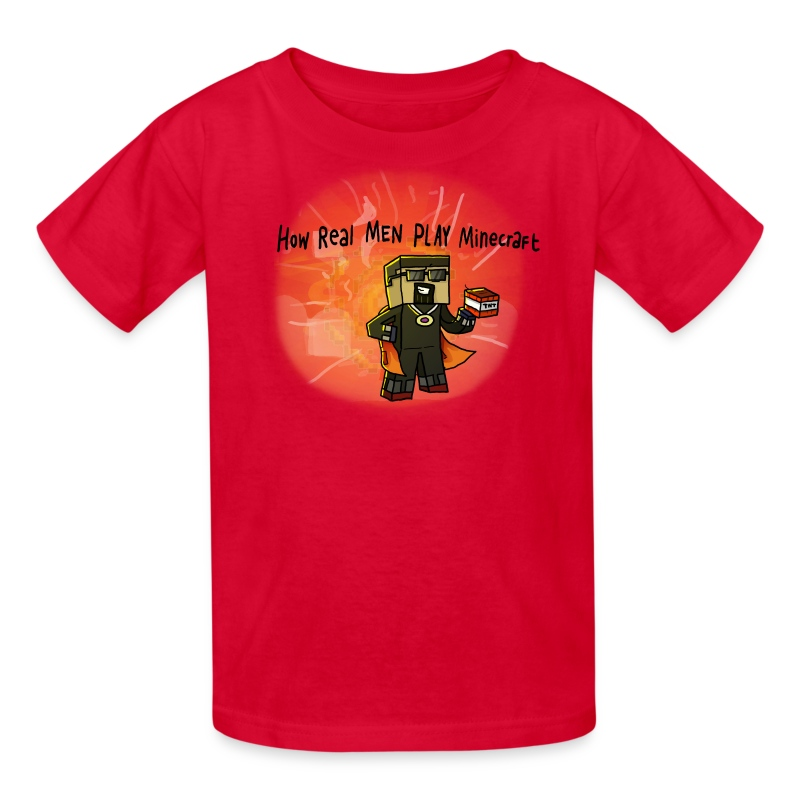 Kid's T-Shirt: How REAL Men Use TNT! - Kids' T-Shirt