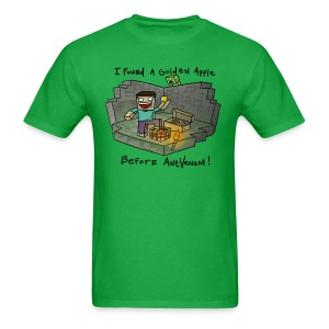 Men's T-Shirt: Steve's Golden Apple - Men's T-Shirt