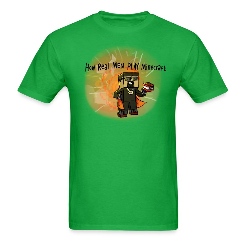 Men's T-Shirt: How REAL Men Use TNT! - Men's T-Shirt