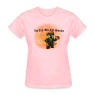 Women's T-Shirts ~ Women's T-Shirt ~ Women's T-Shirt: How REAL Men Use TNT!