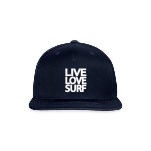 Live, love, surf - Snap-back Baseball Cap