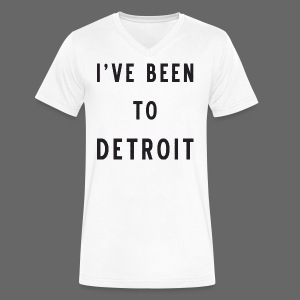 I've Been To Detroit - Men's V-Neck T-Shirt by Canvas