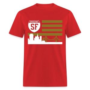 SF flag - Men's T-Shirt