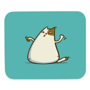 Friday Cat №20 - Mouse pad Horizontal