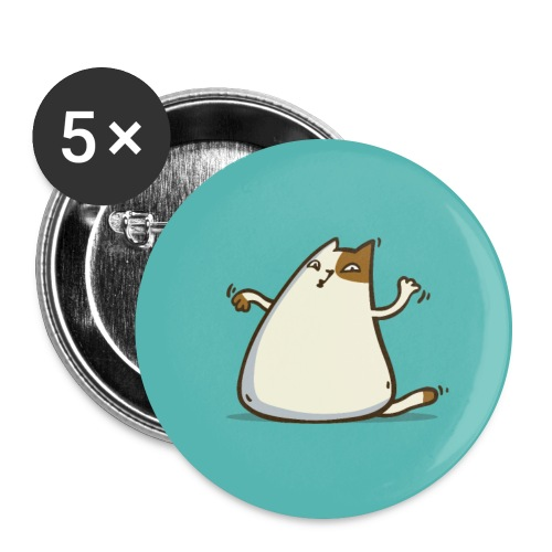 Friday Cat №20 - Large Buttons