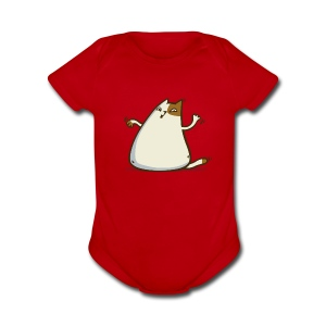 Friday Cat №20 - Short Sleeve Baby Bodysuit