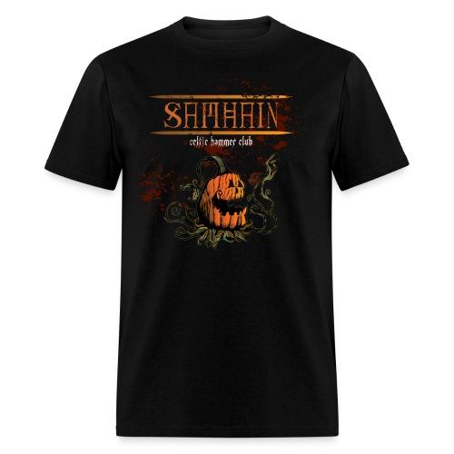 Samhain Creepy Pumpkin Man - Men's T-Shirt