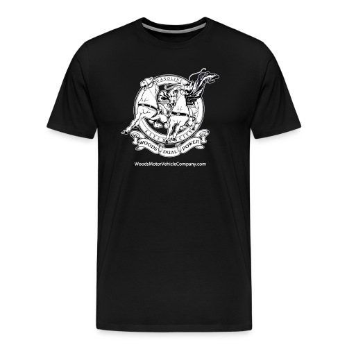 Men's T-shirt - Woods Dual Power Chariot Logo - Men's Premium T-Shirt