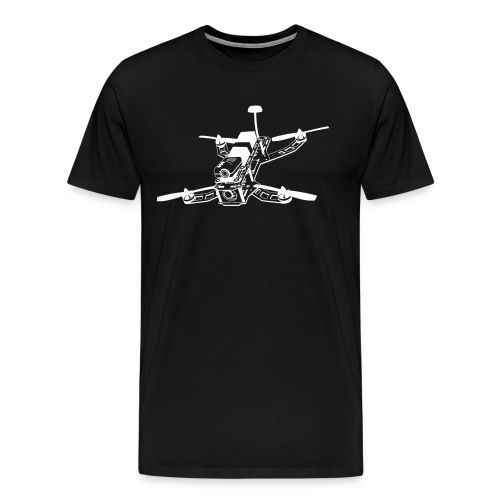 DRONE RACING - Men's Premium T-Shirt
