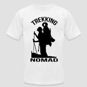 Trekking Nomad - Men's T-Shirt by American Apparel