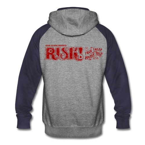 RISK! Colorblock Hoodie - Colorblock Hoodie