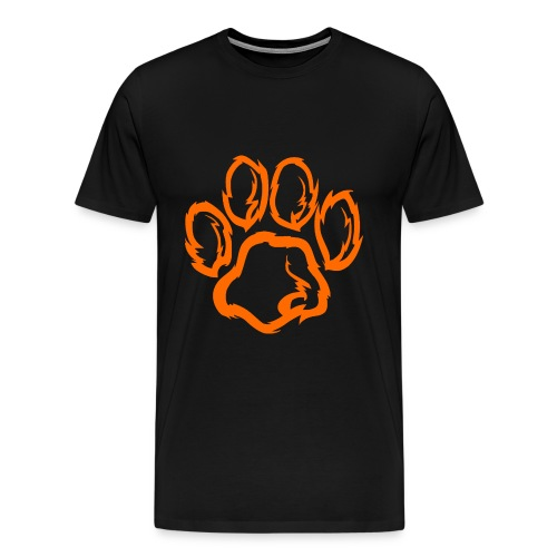 Team Tiger Orange Logo  - Men's Premium T-Shirt