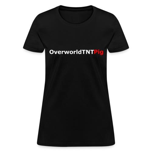 OverworldTNTPig Logo Women's Premium Shirt - Women's T-Shirt