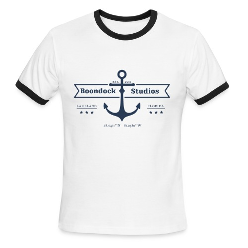 Men's Nautical Ringer - Men's Ringer T-Shirt