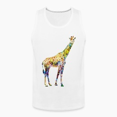 Giraffe Mens Tank Top
