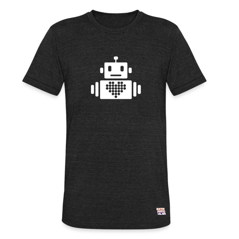 Robot ♥ - Unisex Tri-Blend T-Shirt