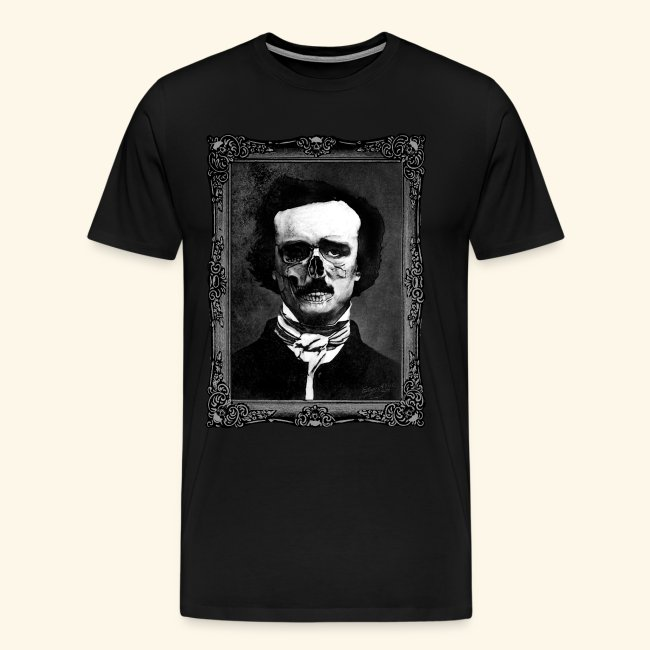 67b8bb22d LosFutbolko | Edgar Allan Poe Inferno - Mens Premium T-Shirt