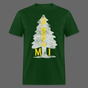 Up North Mi Tree - Men's T-Shirt