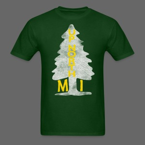 Up North Mi Tree - Men's T-Shirt