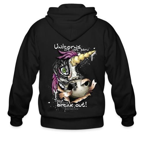 Unicorn breakout - Men's Zip Hoodie
