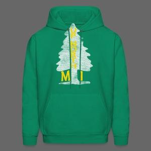 Up North Mi Tree - Men's Hoodie