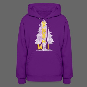 Up North Mi Tree - Women's Hoodie
