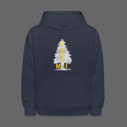 Up North Mi Tree - Kids' Hoodie