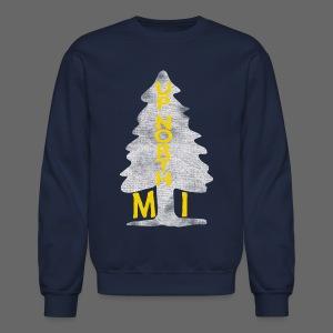Up North Mi Tree - Crewneck Sweatshirt