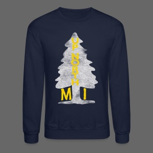 Up North Mi Tree - Crewneck Sweatshirt