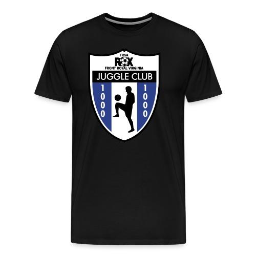 Men's ROX Juggle Club - 1000 - Men's Premium T-Shirt