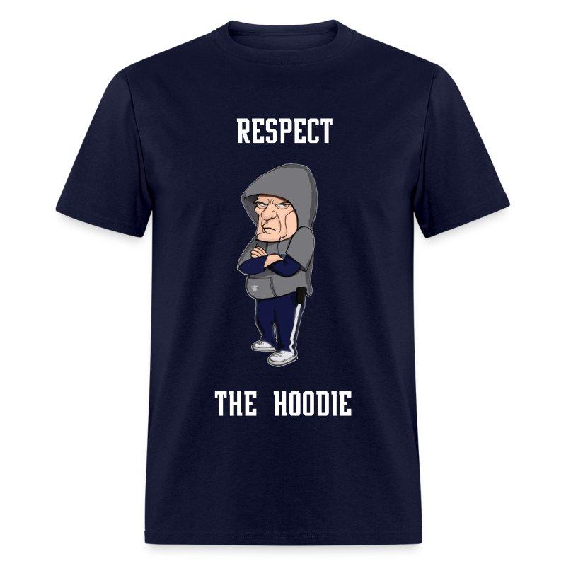 Belichick - Respect the Hoodie - Men's T-Shirt
