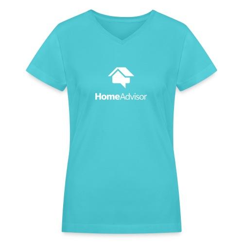 Womens V neck T-shirt - Women's V-Neck T-Shirt