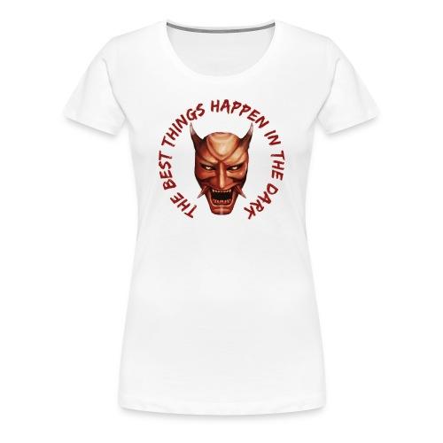 Women's White T-Shirt - Women's Premium T-Shirt