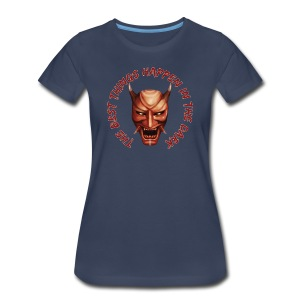 Women's Navy T-Shirt - Women's Premium T-Shirt