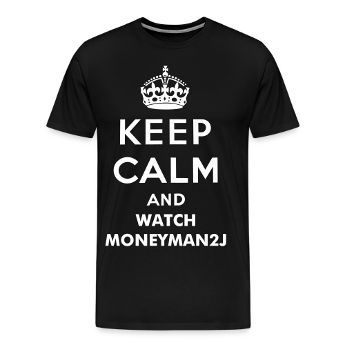 Keep Calm and Watch - Men's Premium T-Shirt