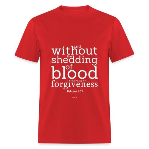 men's t-shirt hebrews 9:22b - Men's T-Shirt
