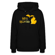 Hoodies ~ Women's Hoodie ~ Michigan Halloween