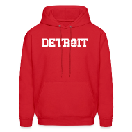 Hoodies ~ Men's Hoodie ~ Classic Detroit Spirit