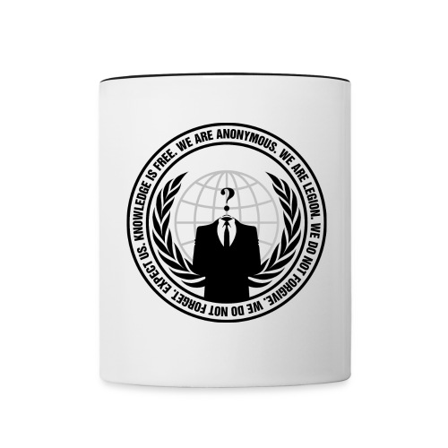 Anon Logo Mug - Contrast Coffee Mug