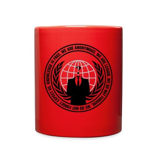 Anon Logo Mug - Full Color Mug