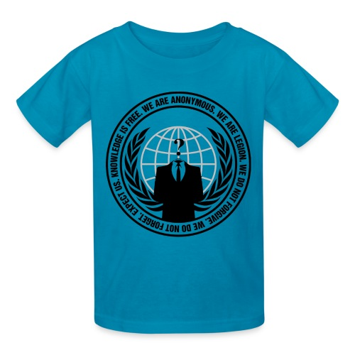 Anonymous Logo - Shirt - Kids' T-Shirt