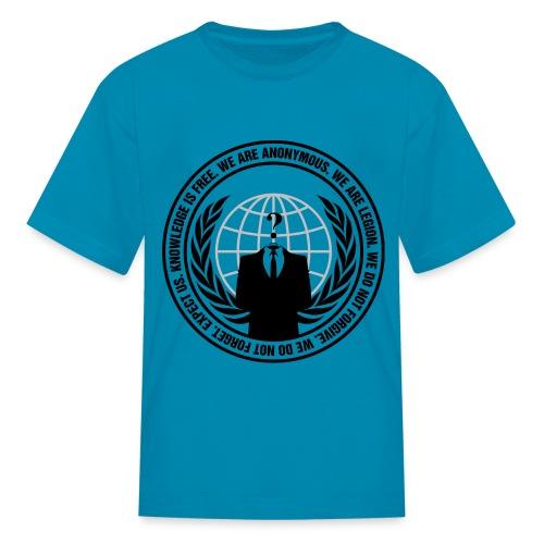 Anonymous Logo - Shirt - Kids' T-Shirt