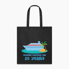25th Anniversary Cruise Bags & backpacks