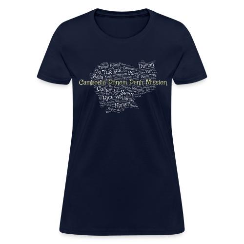 Cambodia Phnom Penh LDS Mission T-Shirt - Women's T-Shirt