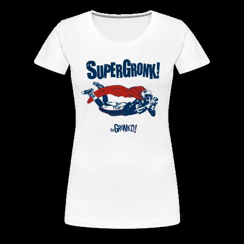 Super Gronk - Women's Premium T-Shirt