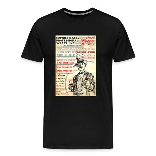 Sophisticated (Men, 3X-4XL) - Men's Premium T-Shirt