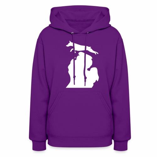 Doberman women's hoodie - Women's Hoodie