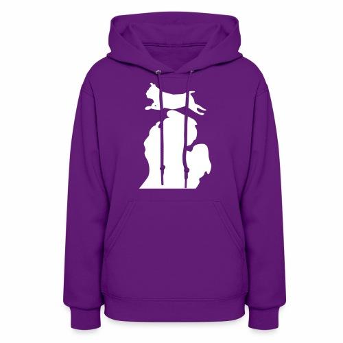 Pug women's hoodie - Women's Hoodie